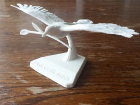 和平鸽模型摆件