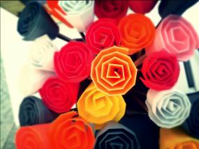 建议玫瑰花模型