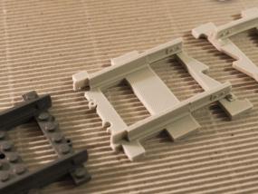 铁路系统轨道适配器