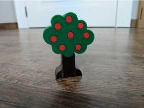 苹果树3d模型