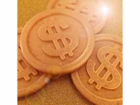 金币3d模型