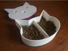 猫头形状糖果盒