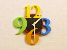 创意圆形时钟