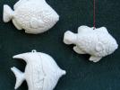 三种鱼装饰品