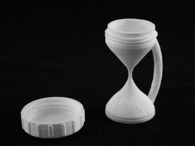 沙漏杯3d模型