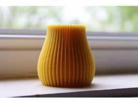 线性抽象花瓶