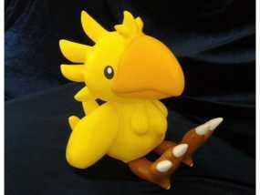 超级萌的鹦鹉玩偶
