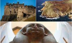 3D扫描发现:木乃伊遗迹,爱丁堡城堡,新的青铜时代遗址