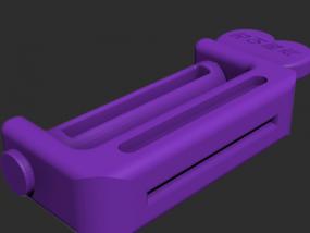 挤牙膏神器模型