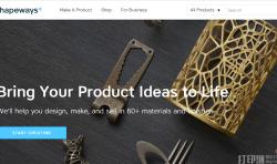 3D打印定制平台Shapeways再获1.9亿元投资,任何人都可以成为创造者