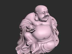 中国佛像 弥勒佛男