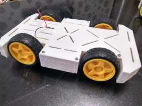 车模 遥控车底盘 电子竞赛 小车 外壳