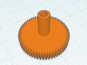 模型齿轮D口  适用减速电机