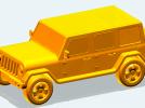 牧马人吉普汽车模型