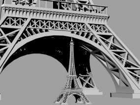 埃菲尔铁塔 建筑
