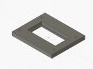三角洲打印机电源接口档板(带开关)