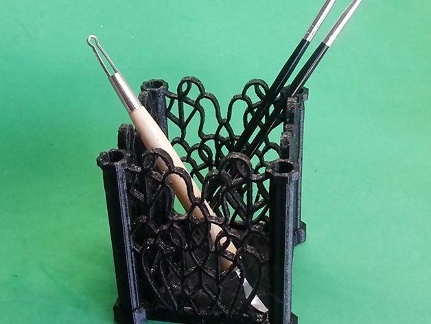 装饰盒 笔架 笔筒