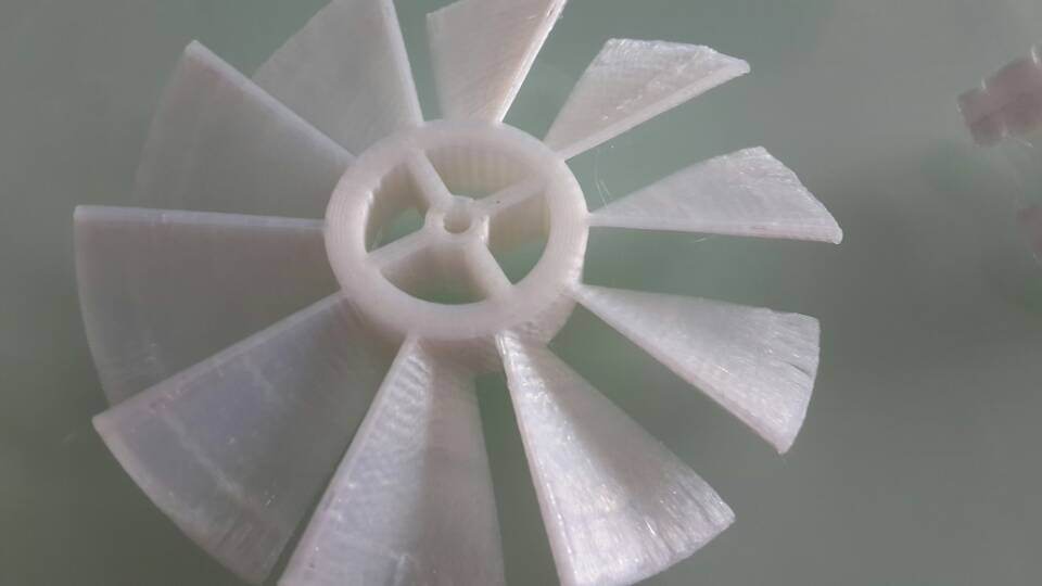 白色大象 3D打印图片