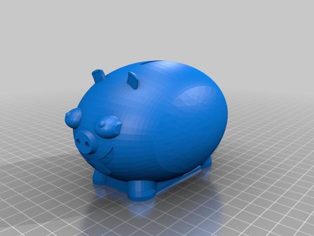 胖猪储蓄罐