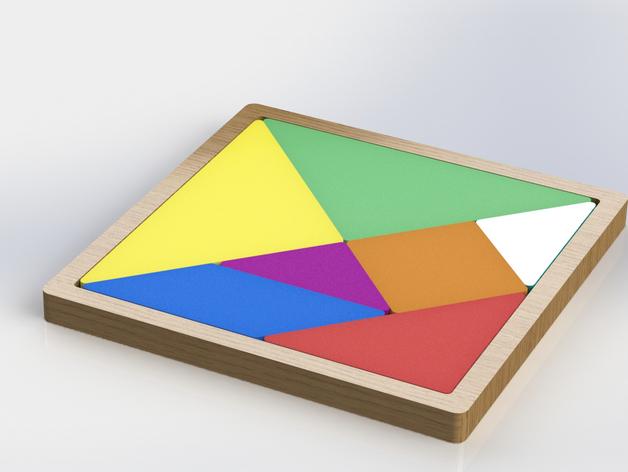 益智玩具 七巧板