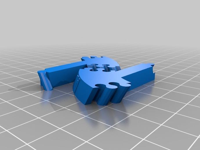 生物学 DNA螺旋 3D打印模型渲染图