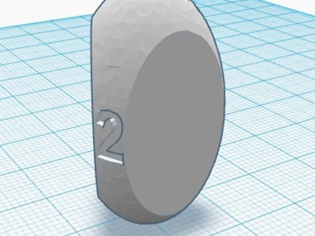 三面球形模型 3D打印模型渲染图