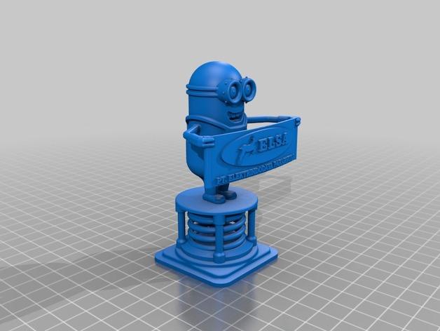 elsa的仆人模型 3D打印模型渲染图