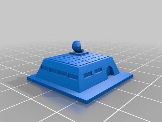 游戏《沙丘魔堡2》中建筑模型