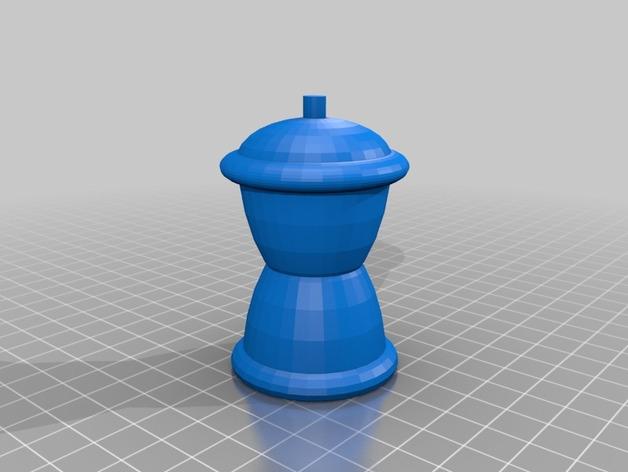 象棋棋子模型 3D打印模型渲染图