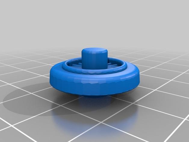 汤玛士小火车轮胎模型 3D打印模型渲染图