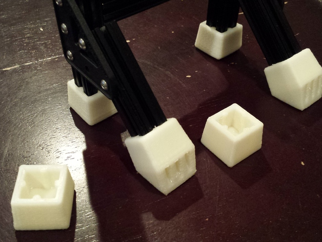 OpenBeam打印物品的保护套 3D打印模型渲染图