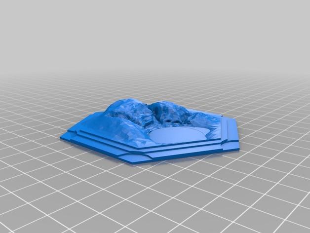 3D打印立体迷你瓷砖
