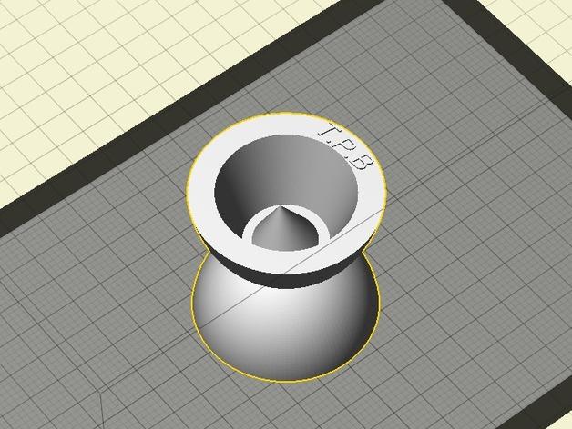 迷你溜溜球模型 3D打印模型渲染图