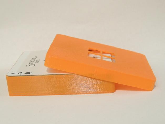 卡片夹 3D打印模型渲染图