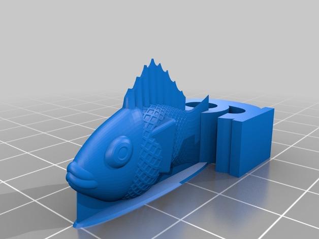 游戏《卡坦岛》中Chevron鱼模型