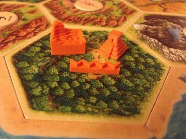 游戏《卡坦岛》中的帝国模型