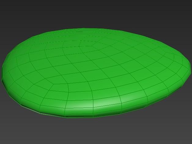 迷你弹跳板模型 3D打印模型渲染图