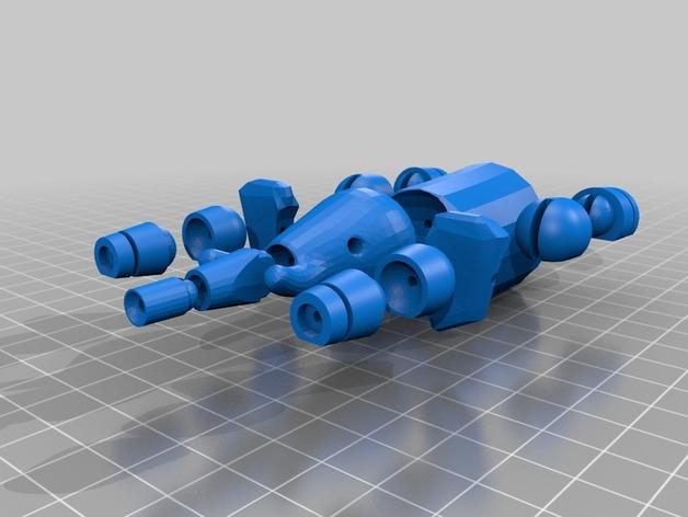 球形大象模型