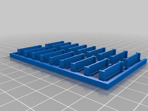 迷你托盘模型 3D打印模型渲染图