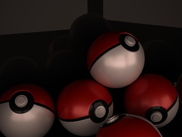 神奇宝贝球模型