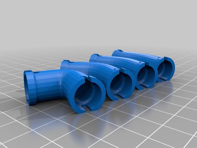 水管接头模型