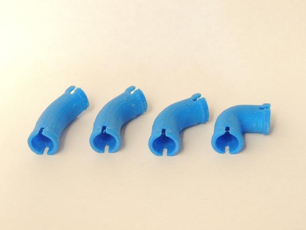 水管接头模型 3D打印模型渲染图