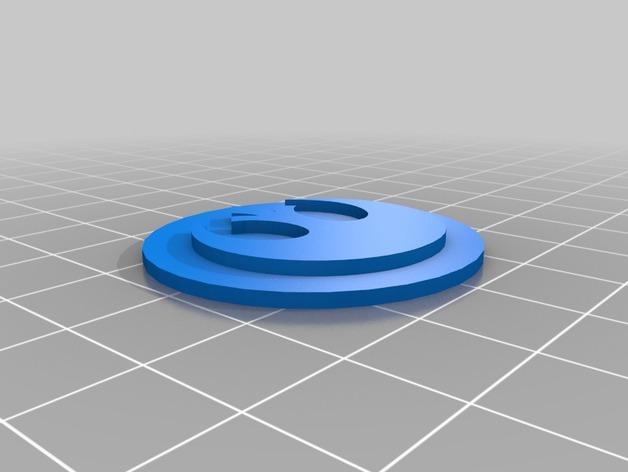 游戏标志模型 3D打印模型渲染图