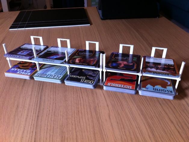 游戏牌卡架