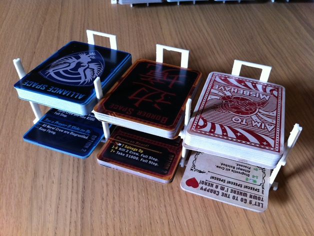 游戏牌卡架 3D打印模型渲染图