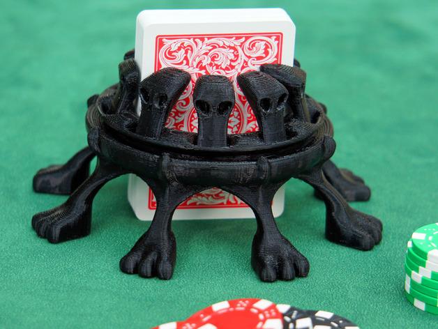 扑克牌架 3D打印模型渲染图