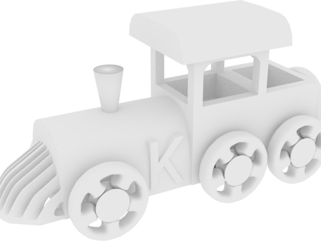 玩具火车头
