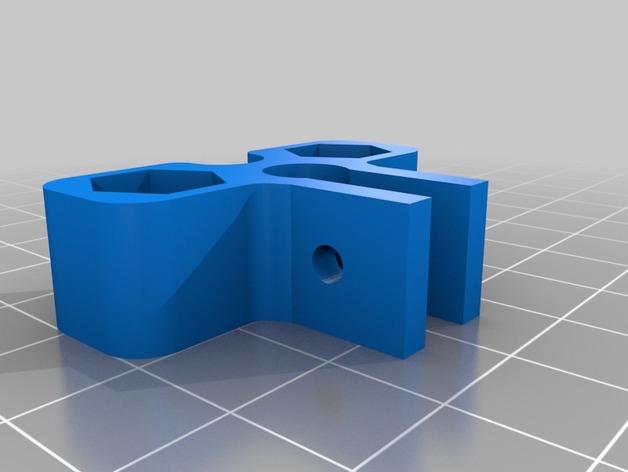 打印机Z轴为调节器模型