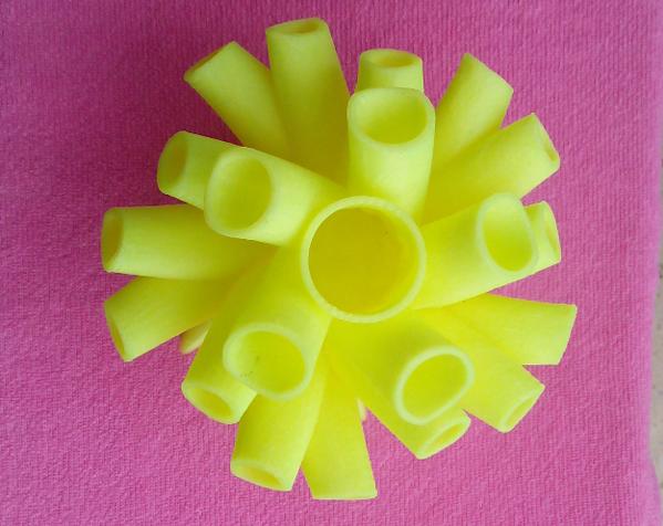 特色笔筒 3D打印实物照片