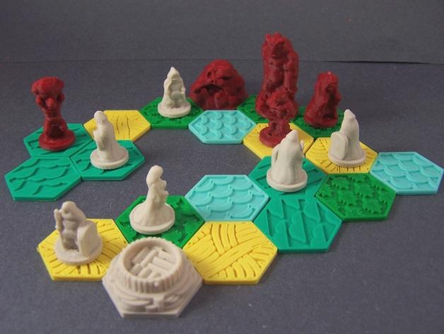 《九大世界》游戏模型